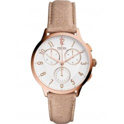 Fossil Ladies Abilene Chronograph Strap Watch CH3016