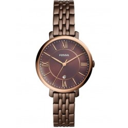 Fossil Ladies Jacqueline Brown Bracelet Watch ES4275