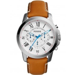 Fossil Mens Brown Watch FS5060