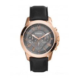 Fossil Mens Grant Rose Gold Watch FS5085