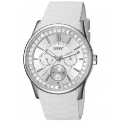 Esprit Ladies Rubber Strap Watch ES105442005