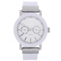 Esprit Ladies Multi Dial White Strap Watch ES105622002