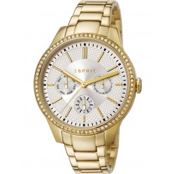 Esprit Ladies Gold Plated Bracelet Watch ES107132006