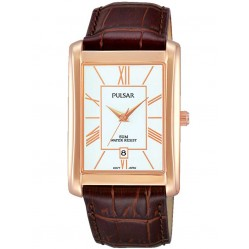 Pulsar Mens Rose Gold Watch PG8248X1