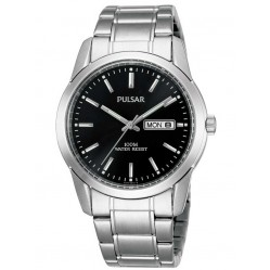 Pulsar Mens Steel Date Watch PJ6021X1