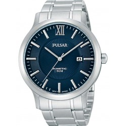 Pulsar Mens Kinetic Bracelet Watch PAR183X1