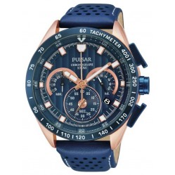 Pulsar Mens Sport Chronograph Strap Watch PU2082X1