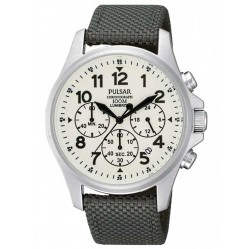 Pulsar Mens Chronograph Strap Watch PT3425X1