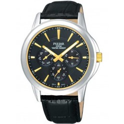 Pulsar Mens Strap Watch PP6017X1