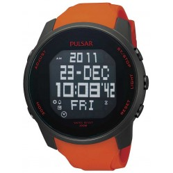 Pulsar Mens Alarm Chronograph Watch PQ2013X1