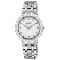 Citizen Ladies White Dial Watch EM0120-58A