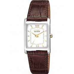 Citizen Ladies Brown Strap Watch EP5914-07A