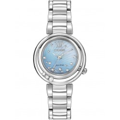 Citizen Ladies Eco-Drive Sunrise Diamond Watch EM0320-59D