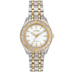 Citizen Ladies CITIZEN L Carina Two Tone Bracelet Watch EM0244-55A