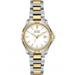 Citizen Ladies Silhouette Two Tone Bracelet Watch EW1964-58A