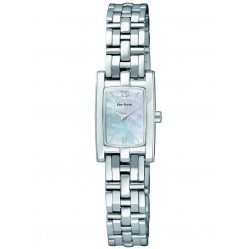 Citizen Ladies Silhouette Mother of Pearl Bracelet Watch EG2340-51D