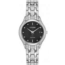 Citizen Ladies Carina Diamond Set Bracelet Watch GA1060-57E
