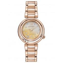 Citizen Ladies Sunrise Diamond Watch EM0323-51N