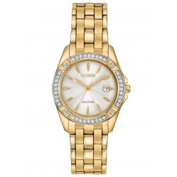 Citizen Ladies Eco-Drive Silhouette Crystal Watch EW2352-59P