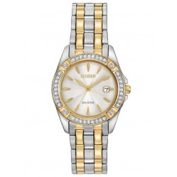 Citizen Ladies Eco-Drive Silhouette Crystal Watch EW2354-53P