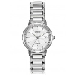 Citizen Ladies Eco-Drive Silver Bracelet Watch EW2370-57A