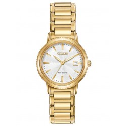 Citizen Ladies Gold Tone Bracelet Watch EW2372-51A