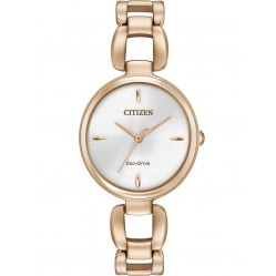 Citizen Ladies CITIZEN L Rose Gold Plated Bracelet Watch EM0423-56A