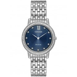 Citizen Ladies Silhouette Crystal Bracelet Watch EX1480-58L