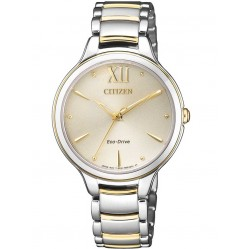 Citizen Ladies CITIZEN L Two Tone Bracelet Watch EM0554-82X