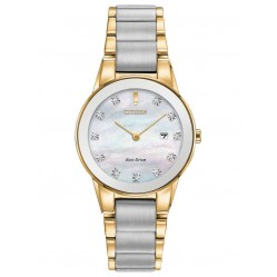 Citizen Ladies Eco-Drive Two Tone Watch GA1054-50D