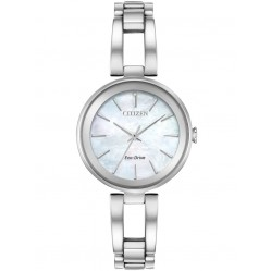 Citizen Ladies Silhouette Mother Of Pearl Watch EM0630-51D