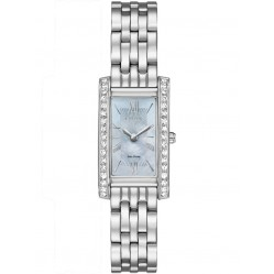 Citizen Ladies Silhouette Crystal Mesh Bracelet Watch EX1470-60D
