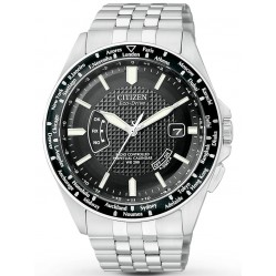 Citizen Mens World Perpetual A-T Watch CB0020-50E