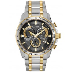 Citizen Mens Atomic Eco-Drive Bracelet Watch AT4004-52E