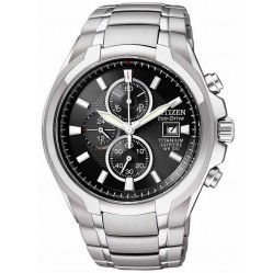 Citizen Mens Super Titanium Chronograph Bracelet Watch CA0260-52E