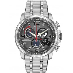 Citizen Mens Radio Controlled Alarm Watch BY0100-51H