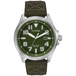 Citizen Men's Eco-Drive Military Watch AW1410-16X