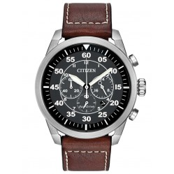 Citizen Mens Avion Brown Watch CA4210-24E