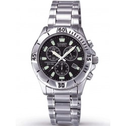 Citizen Mens Eco Drive Bracelet Watch AT0750-55F