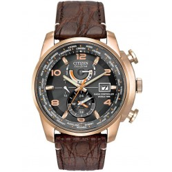 Citizen Mens Rose Gold Plated Limited Edition Watch AT9013-11E