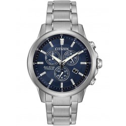 Citizen Mens Eco-Drive Titanium Watch AT2340-56L