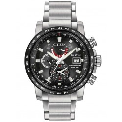 Citizen Mens Eco-Drive World Time Watch AT9071-58E