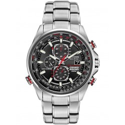 Citizen Mens World Chrono A-T Red Arrows Bracelet Watch AT8060-50E