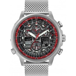 Citizen Mens Red Arrows Navihawk Radio Controlled Bracelet Watch JY8039-54E