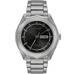 Citizen Super Titanium Eco-Drive Bracelet Watch AW0060-54H
