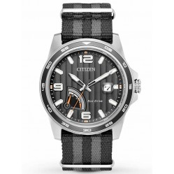 Citizen Mens Eco-Drive Power Reserve Strap Watch AW7030-06E