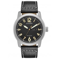 Citizen Mens Military Eco-Drive Strap Watch BM8471-01E