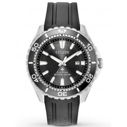 Citizen Mens Eco-Drive Promaster Diver Rubber Strap Watch BN0190-07E