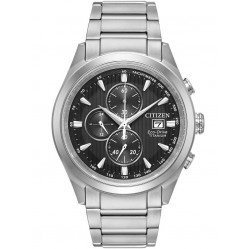 Citizen Mens Eco-Drive Super Titanium Bracelet Watch CA0650-58E