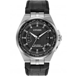Citizen Mens World Perpetual A-T Eco-Drive Watch CB0160-00E